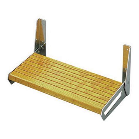 Bracket Footrest Hd New garelick aluminum folding bracket for footrest pair west marine