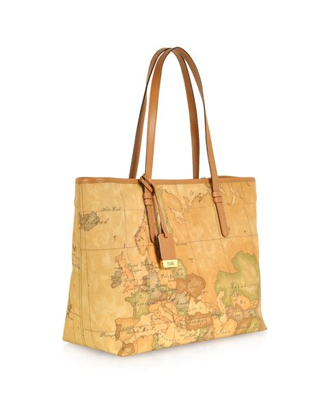 Tote Bag Hitam New lyst alviero martini 1a classe 1a prima classe geo printed large new basic tote bag in