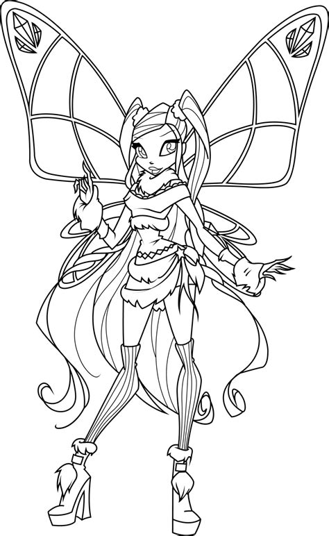 stella lovix coloring page by icantunloveyou on deviantart