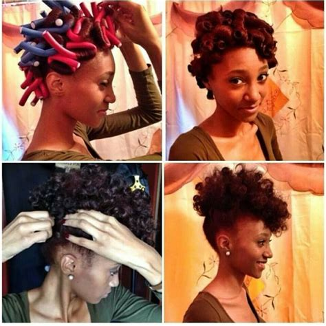 flexi rod hairstyles relaxed hair african naturalistas defining your natural hair curls