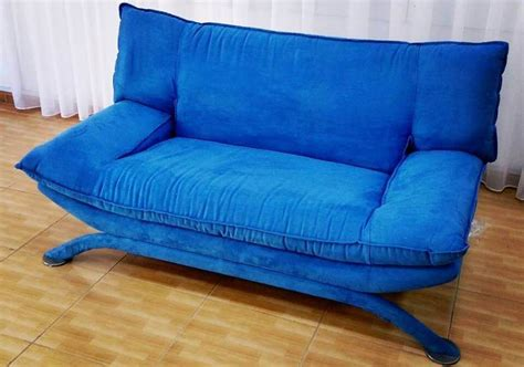 bright blue couch furniture in dubai upholstery in dubai carpets in dubai