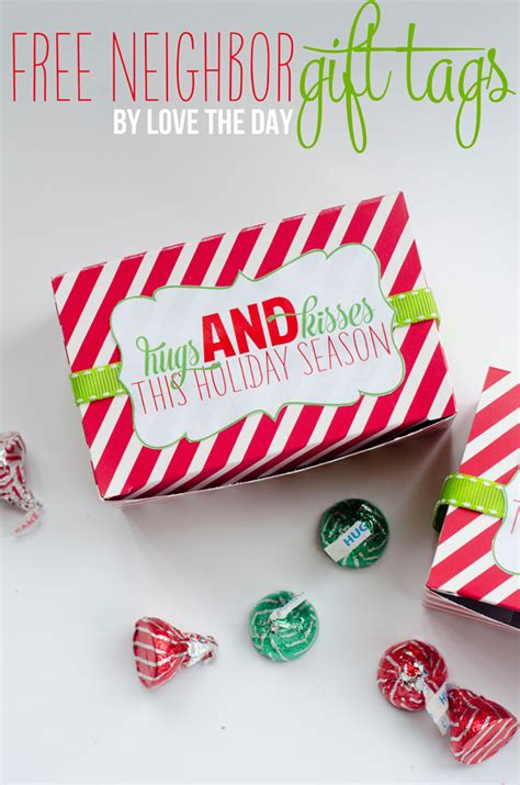 printable gift tags for neighbors christmas gifts for teachers neighbors the tomkat