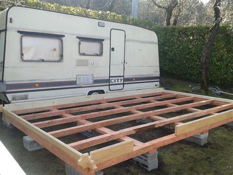 verande in legno per roulotte preingressi roulotte in legno in legno casette in