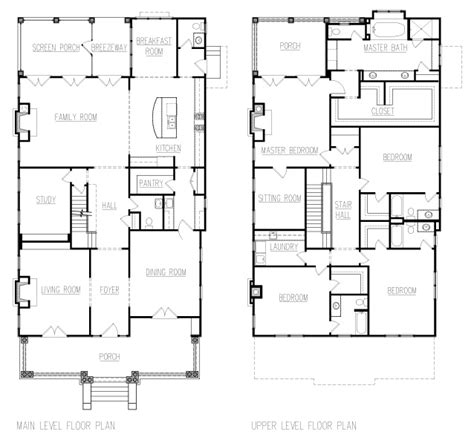 house with attic floor plan attic plansdesigns foursquare homes joy studio design