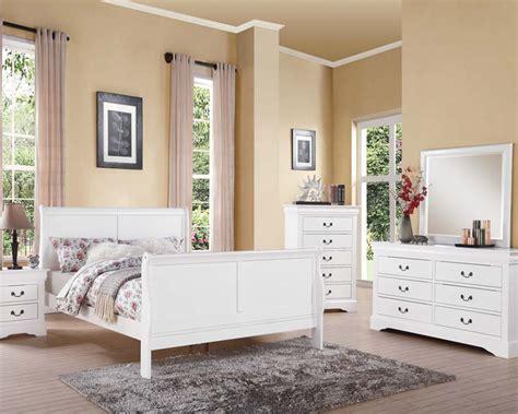 louis phillipe bedroom set white bedroom set louis philippe iii by acme ac24500set