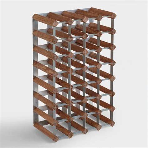 world market wine cabinet wood industrial wine rack world market