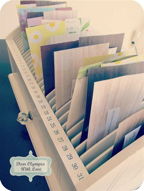 bill organizer for the home