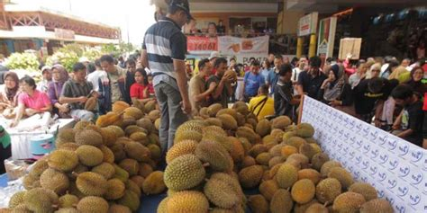 Durian Medan Legit akhir pekan saatnya berpesta durian medan di jakarta