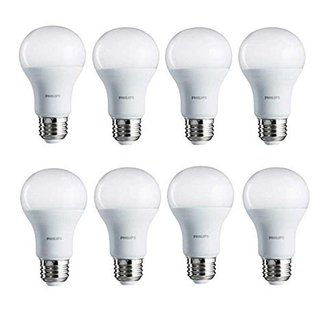 Lu Sorot Led 100 Watt Philips philips led non dimmable a19 frosted light bulb 1500