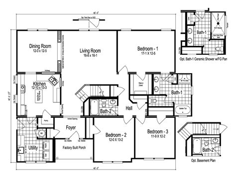 palm harbor mobile homes floor plans view the easton floor plan for a 1883 sq ft palm harbor