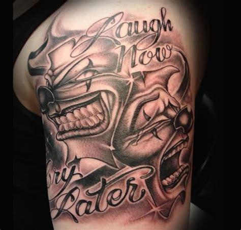 black and grey gangster tattoos 13 gangster tattoos on shoulder