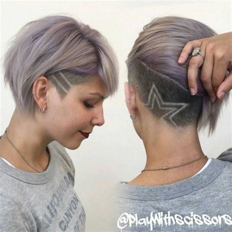 shaved side undercut female pinterest 16 fabulous short hairstyles for girls and women of all