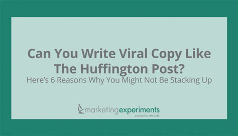 up letters huffington post can you write viral copy like the huffington post