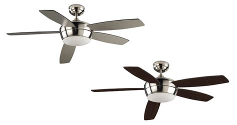 quiet ceiling fans with lights modern and quiet ceiling fan white or nickel