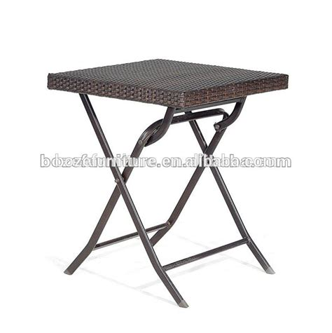 Rattan Cheap Outdoor Wrought Iron Folding Table Buy
