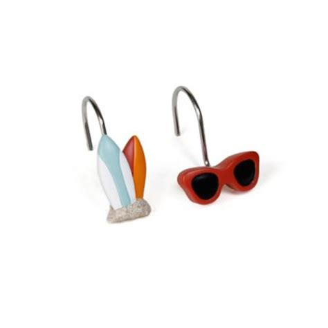 beach shower curtain hooks buy beach shower curtains from bed bath beyond