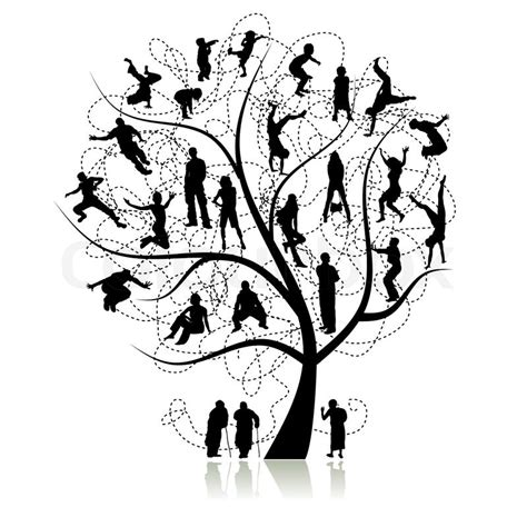 Stammbaum Verwandten Stock Vektor Royalty Free Family Tree Clip Vector Images Illustrations Istock