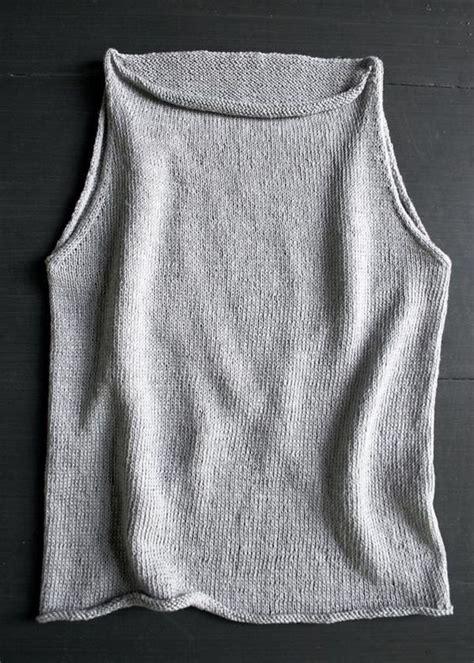 knit tank top pattern s loop tulip tank top purl soho knitting