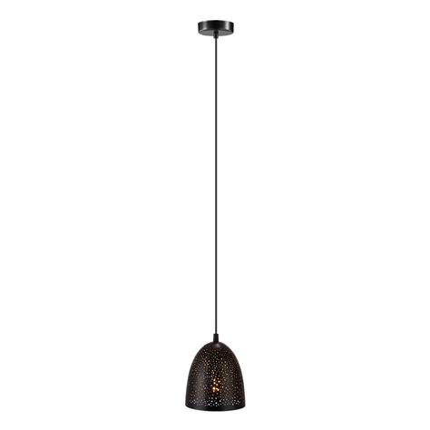 Matte Black Pendant Light Eglo Safi 1 Light Matte Black Pendant 202265a The Home Depot