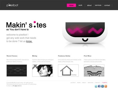 minimalistic web design 70 typographic clean and minimalist color scheme web