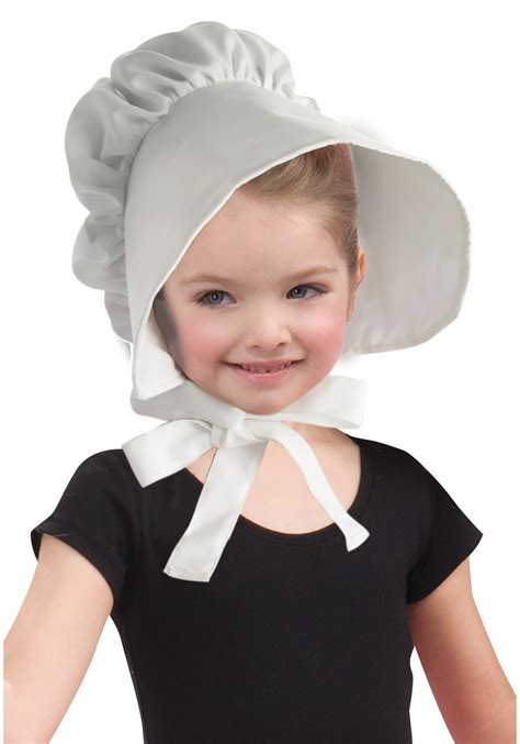 Halloween Decorations To Make At Home by Child White Pioneer Bonnet