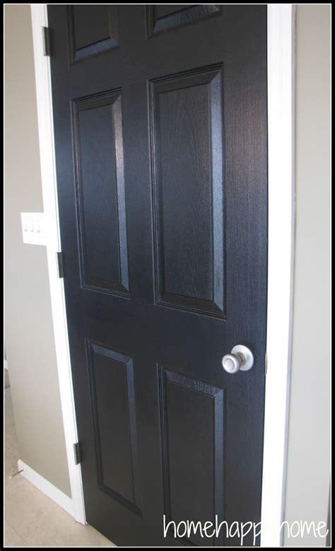 Interior Doors Painted Black Home Happy Home Black Painted Interior Doors