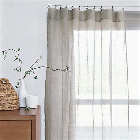 Linen Sheer Curtains Shopping Guide Sheer Linen Drapes 171 The Frugal Materialist The Frugal Materialist Interior