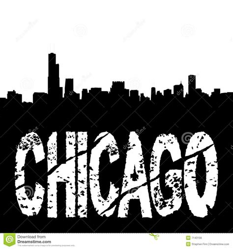 free coloring pages of chicago skyline