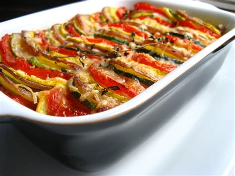 ina garten vegetables vegetable tian recipes dishmaps