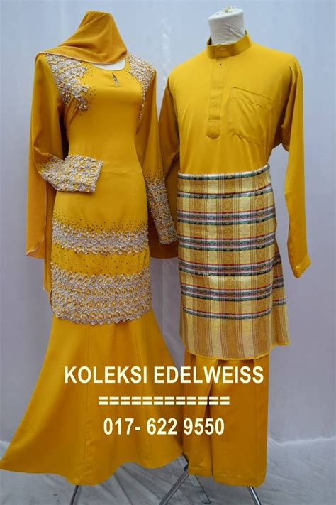Baju Kurung Pahang Warna Coklat koleksi edelweiss baju pengantin baju nikah dan tunang muslimah terkini june 2016