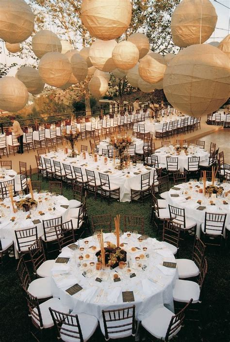 wedding reception layout long tables a festive alfresco celebration in san pedro california