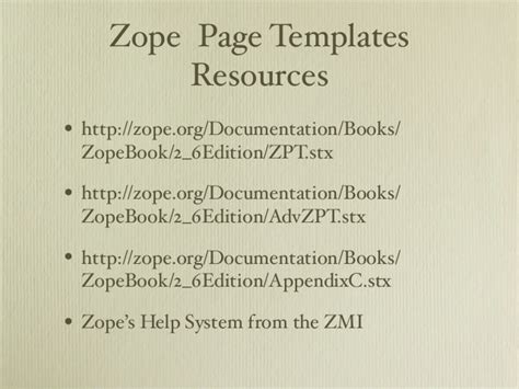 tutorial zope python introduction to python for plone developers