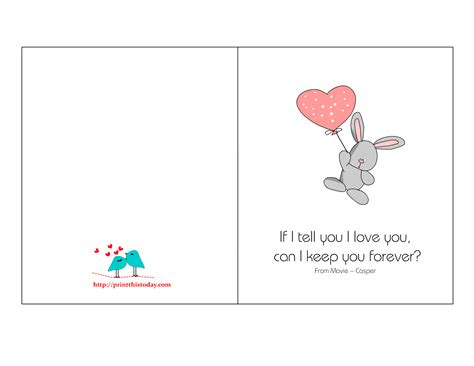 Love Gift Card - cute love cards quotes