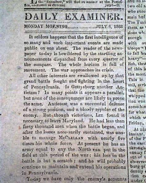 Gettysburg Essay by Battle Of Gettysburg Essay Papers