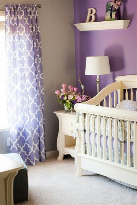 curtain color for purple wall purple accent wall with matching curtains baby