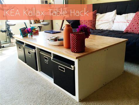 hack the ikea kallax with replacement ikea sofa legs ikea kallax table hack