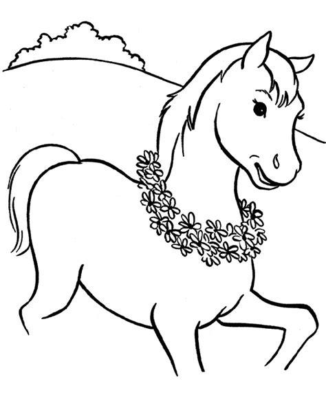horse coloring pages preschool preschool coloring pages horses preschool best free
