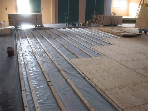 wood floor over concrete wb designs plywood subfloor over concrete in uncategorized style