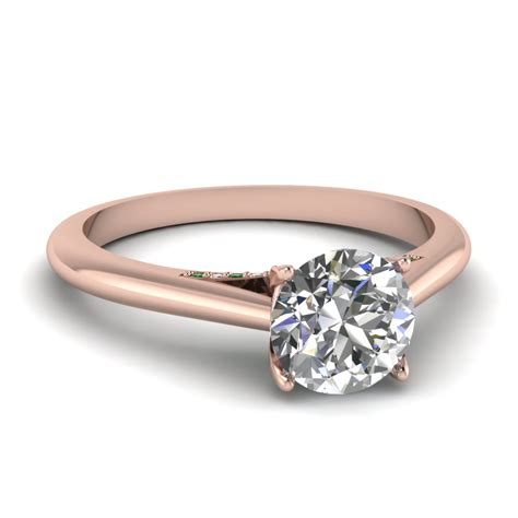 trends of thin band engagement rings
