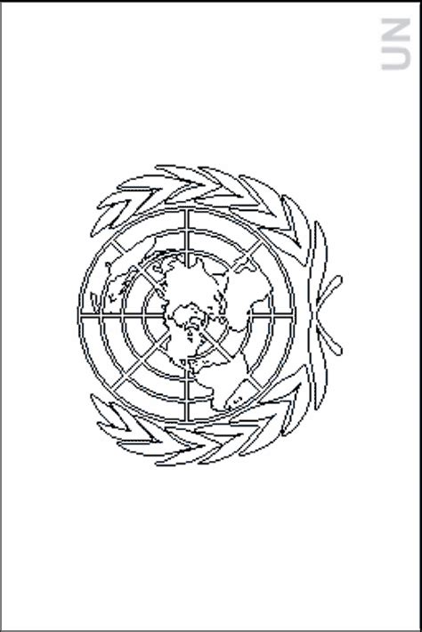 Colouring Book of Flags: International Organizations