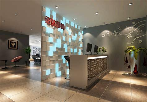 reception room modern reception room 3d model max cgtrader