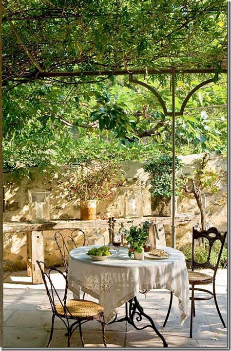 fresco provence covered terrace al fresco dining in provence inspire