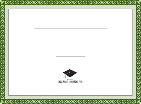 free printable certificates templates blank scholarship certificate template apa templates