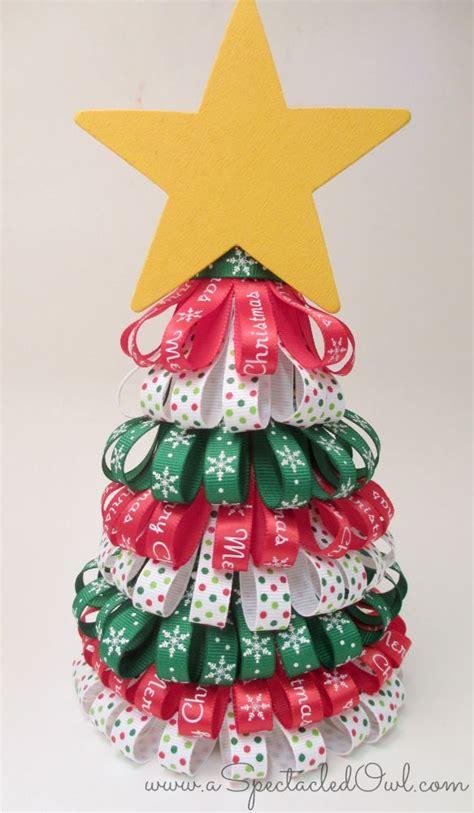 ribbon christmas tree tutorial http www diyinspired