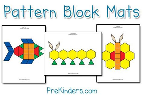 pattern making with different shapes plantillas para los bloques geom 233 tricos aprendiendo