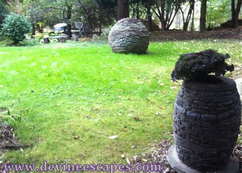 stacked stone sculptures devine escapes