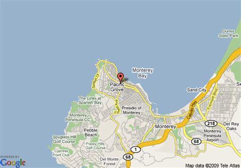 gosby house inn map of gosby house inn pacific grove