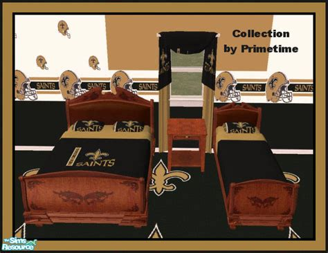 new orleans saints bedroom set primetime024 s pt nfl new orleans saints bedroom