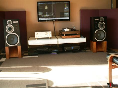 Sale Advance M 9100 Fm Speaker Subwoofer Multimedia M9100 yamaha ns 1000m and custom made stands sold to joe photo 903806 canuck audio mart