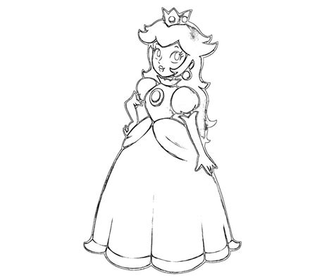 random princess coloring pages random princess peach coloring pages picture to pin on
